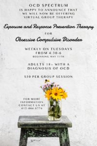 Group Therapy Sessions for Obsessive Compulsive Disorder | OCD Spectrum